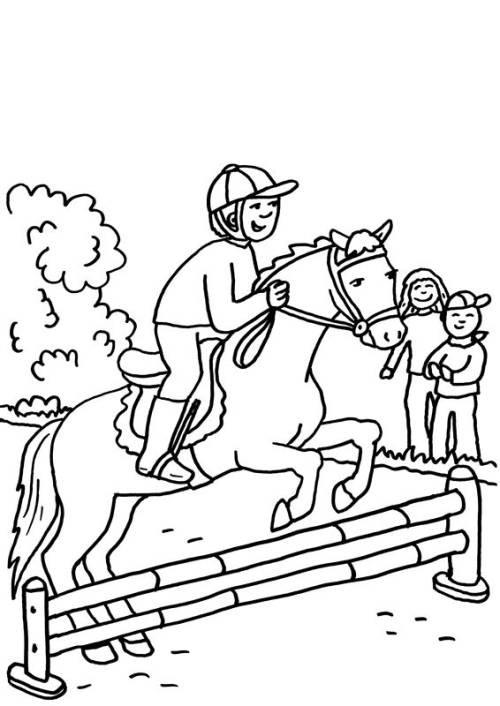 top 20 pferde ausmalbilder springen  beste wohnkultur
