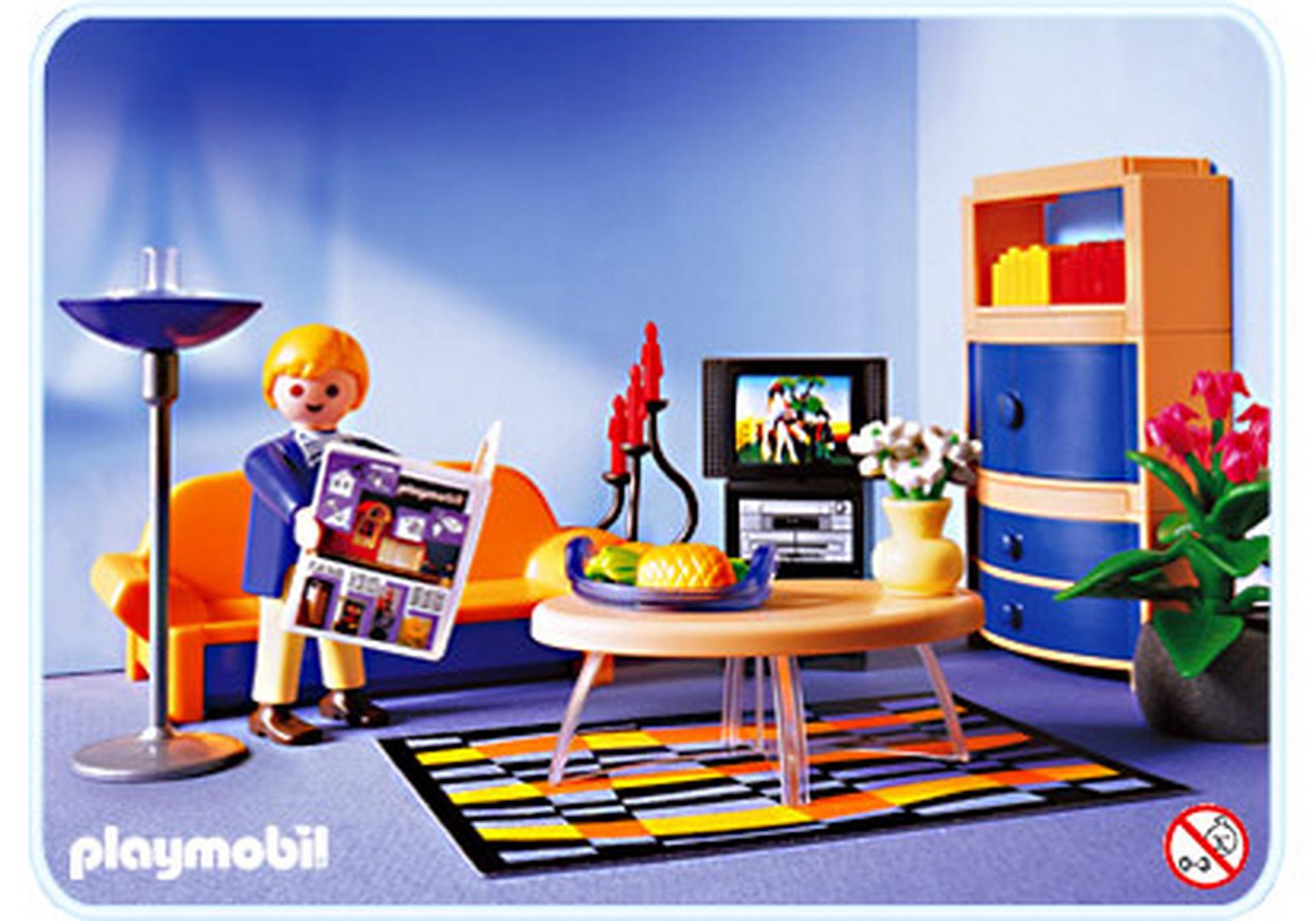 Playmobil Wohnzimmer  Modernes Wohnzimmer 3966 A PLAYMOBIL Deutschland