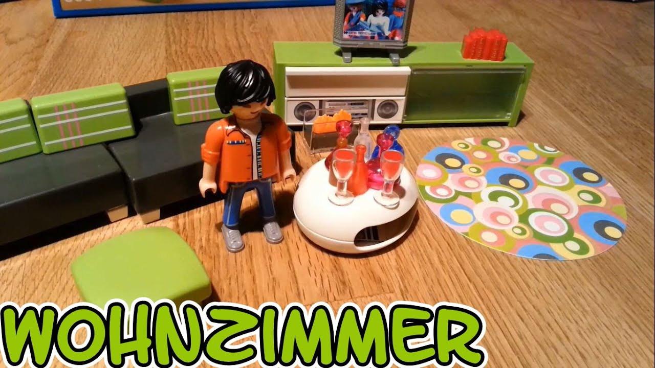 Playmobil Wohnzimmer  Playmobil Wohnzimmer 5584 Luxusvilla auspacken seratus1