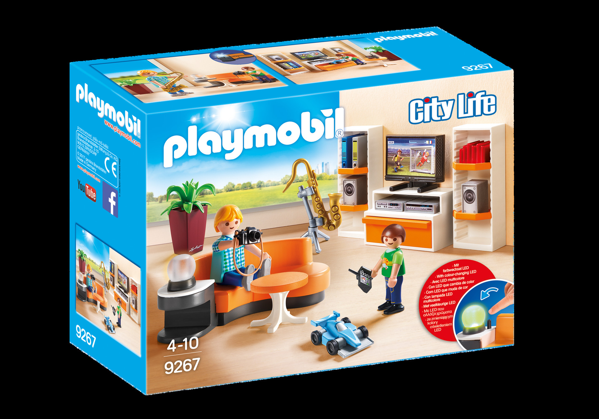 Playmobil Wohnzimmer  Wohnzimmer 9267 PLAYMOBIL Deutschland