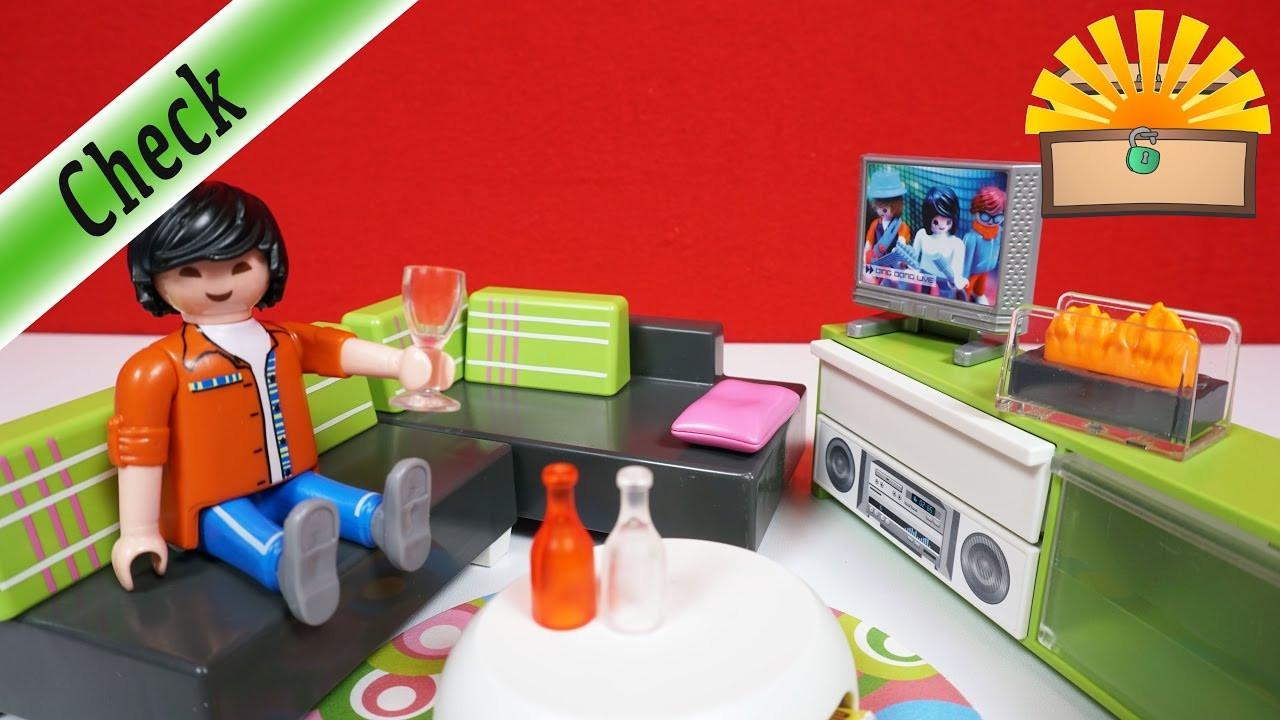 Playmobil Wohnzimmer  LUXUS WOHNZIMMER für LUXUSVILLA Playmobil 5584 City Life