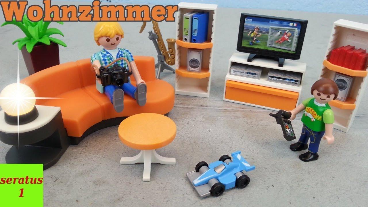 Playmobil Wohnzimmer  Playmobil Wohnzimmer 9267 auspacken für Modernes Wohnhaus