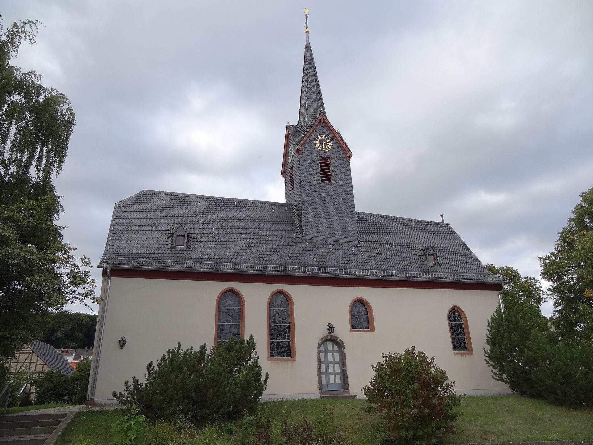 Pohlheim Hausen  Evangelische Kirche Hausen Pohlheim –