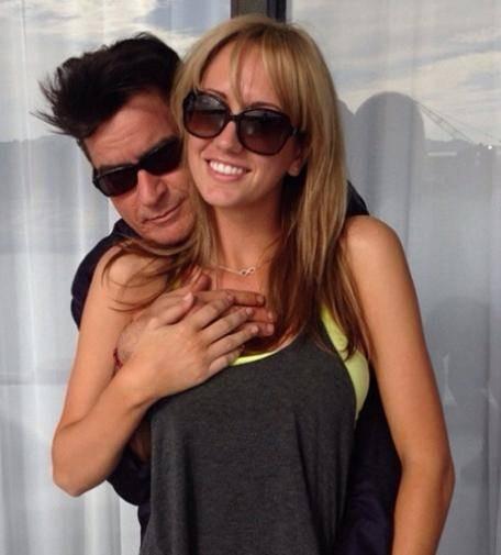 Porno Hochzeit  Charlie Sheen Hochzeit mit Pornostar war ein Scherz