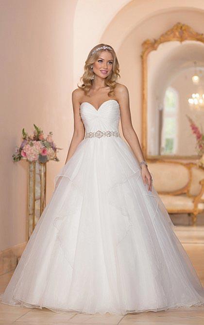 Prinzessinnenkleid Hochzeit  Duchesse Kleid Das Prinzessinnenkleid zur Hochzeit