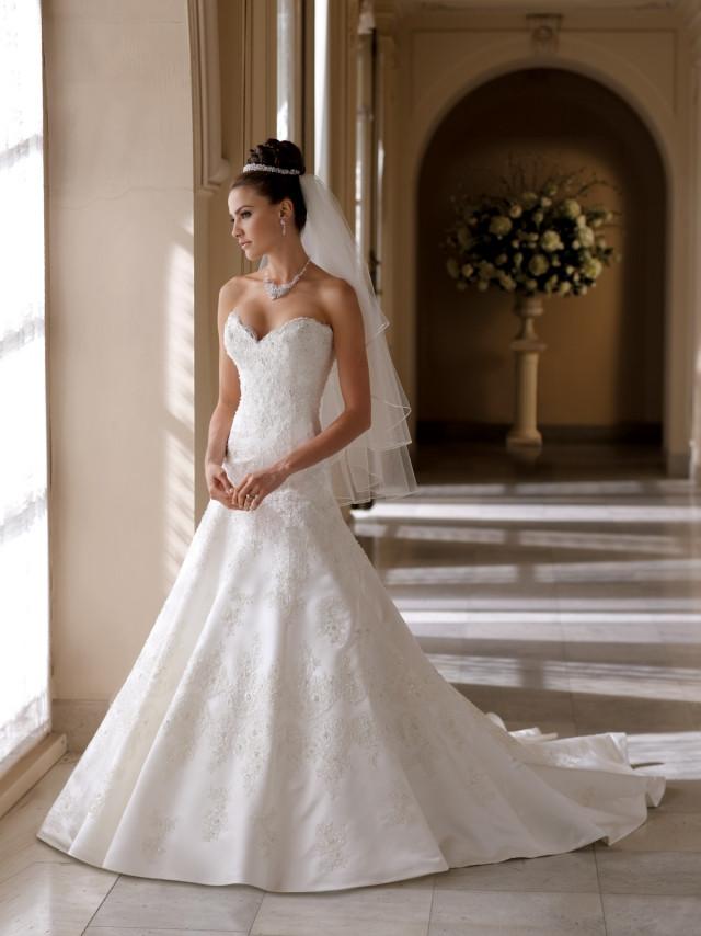 Prinzessinnenkleid Hochzeit  20 Schöne Brautkleider von der David Tutera Kollektion