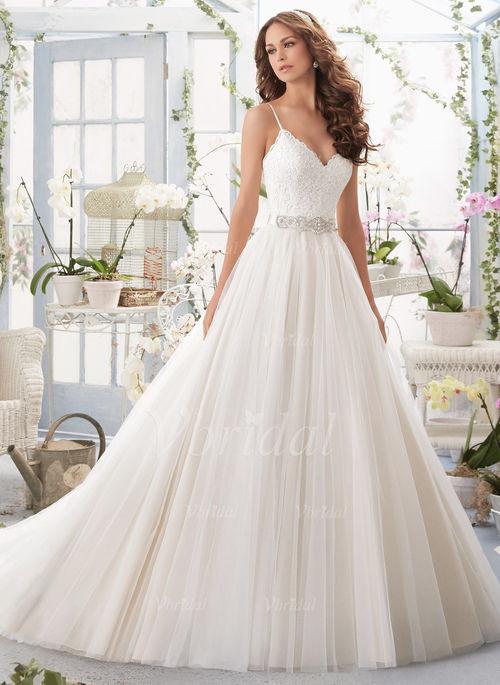 Prinzessinnenkleid Hochzeit  Die schönsten Brautkleider