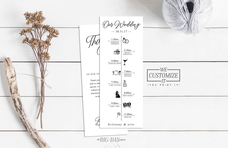 Programm Hochzeit  Hochzeit Tag Timeline Infografik Programm Hochzeit