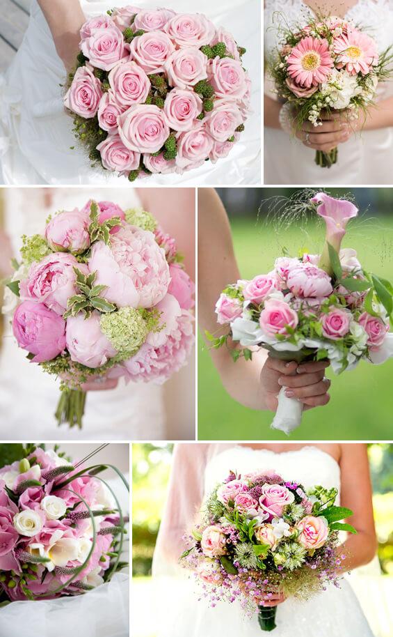 Ranunkel Brautstrauß  Brautstrauß in Rosa oder Pink viele Ideen von zart bis