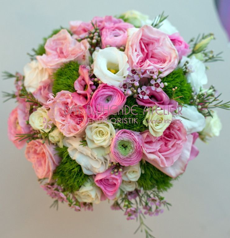Ranunkel Brautstrauß  Brautstrauß rosa romantisch Brautstrauß