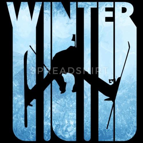 Retro Geschenke  Retro Vintage Winterurlaub Geschenke Skifahren Sport von