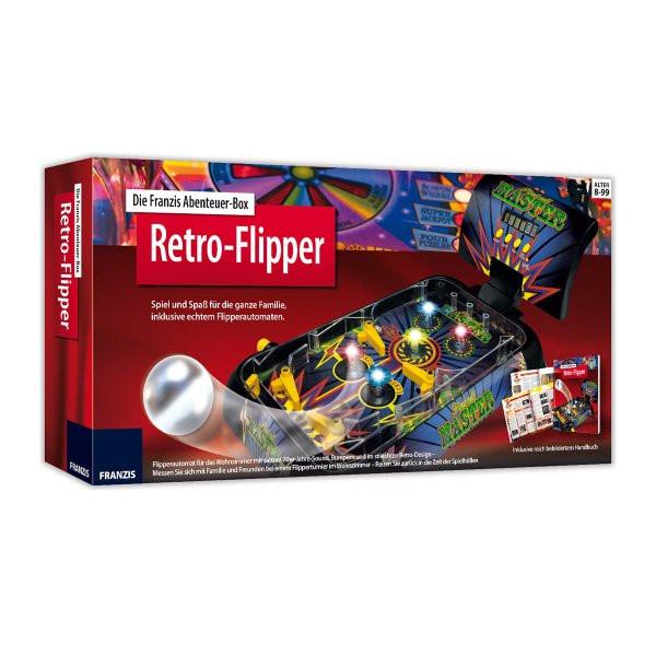 Retro Geschenke  Franzis Abenteuer Box Retro Flipper online kaufen