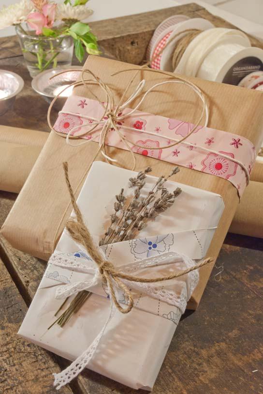 Retro Geschenke  Geschenke verpacken selbst originell und fantasievoll
