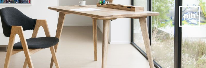 Retro Schreibtisch  Schreibtisch retro skandinavischer stil