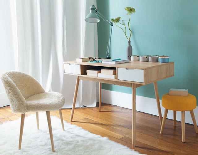 Retro Schreibtisch  Retro Möbel von Maisons du Monde
