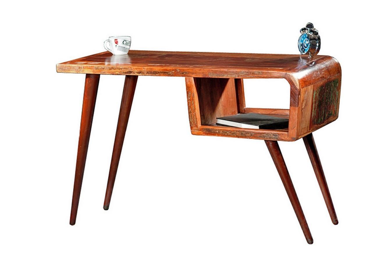Retro Schreibtisch  Schreibtisch vintage bunt