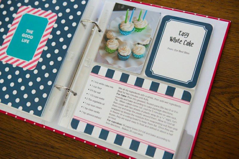 Rezeptbuch Hochzeit  Kochbuch selbst gestalten attraktive und inspirierende