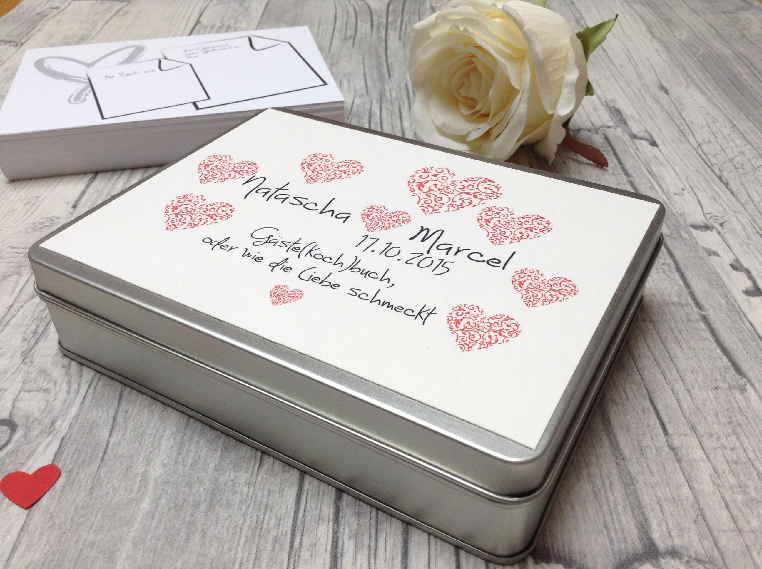 Rezeptbuch Hochzeit  Kochbuch Fur Hochzeit