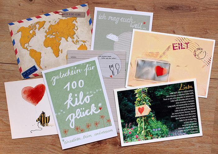 Rezeptbuch Hochzeit  52 Postkarten für das Brautpaar