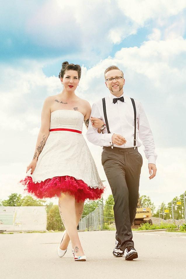 Rockabilly Männer Hochzeit  Rockabilly Hochzeit – Inspirationsshoot voll Rock n Roll