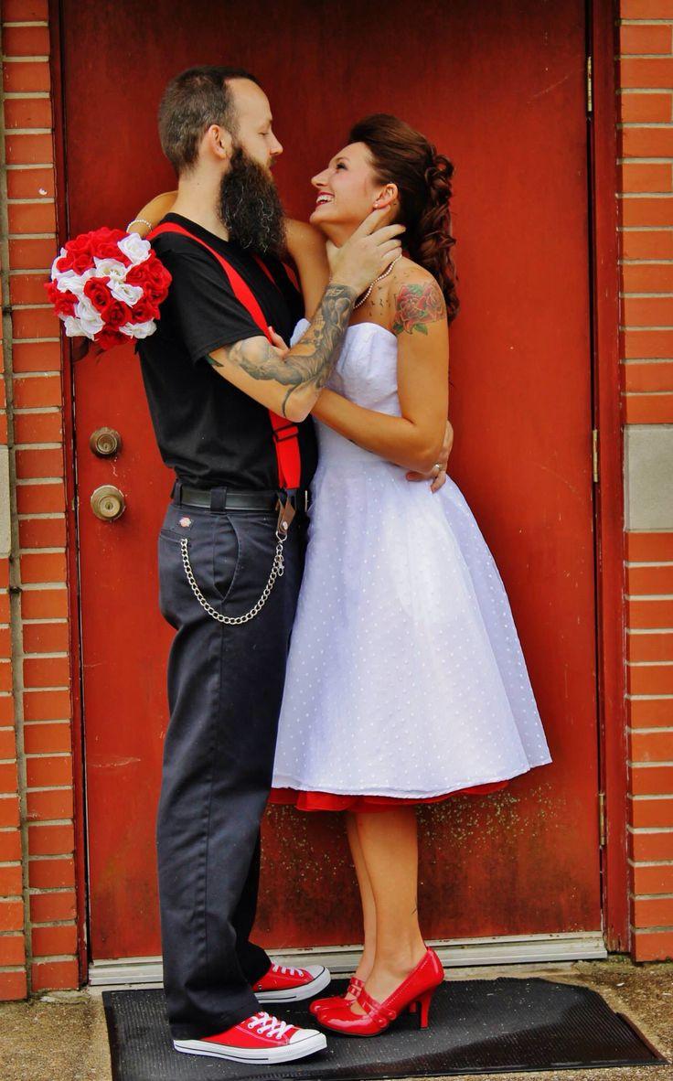 Rockabilly Männer Hochzeit  Die besten 25 Rockabilly hochzeit Ideen auf Pinterest