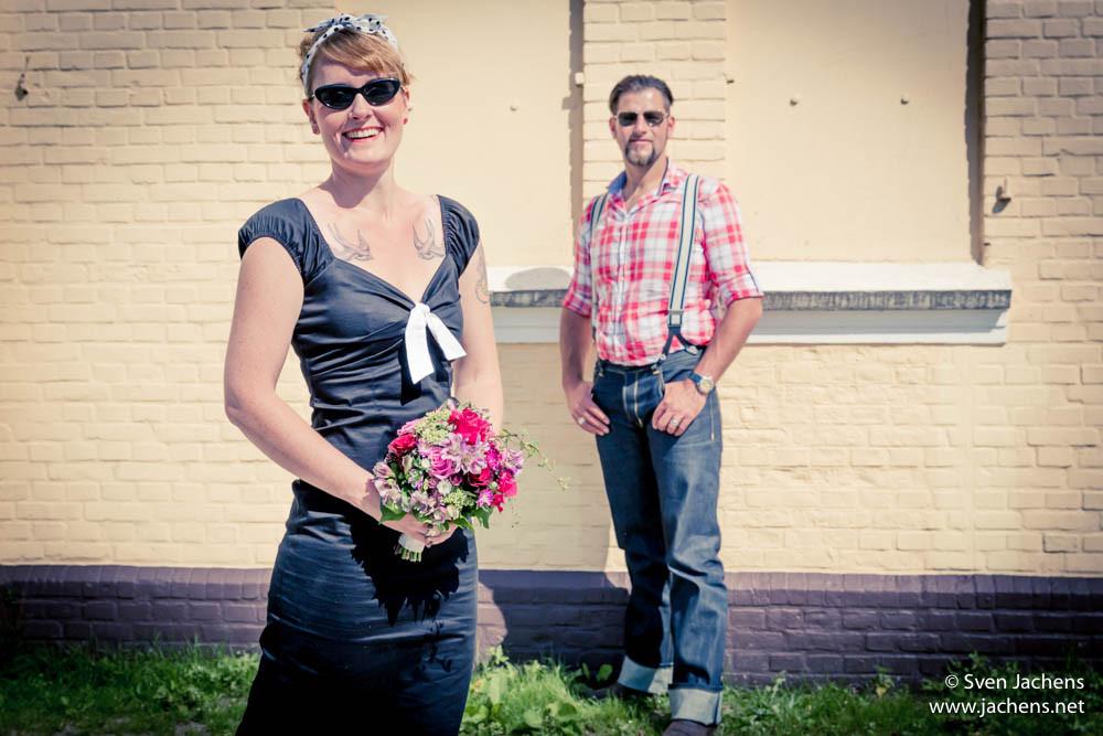 Rockabilly Männer Hochzeit  Rockabilly Hochzeit Bremerhaven