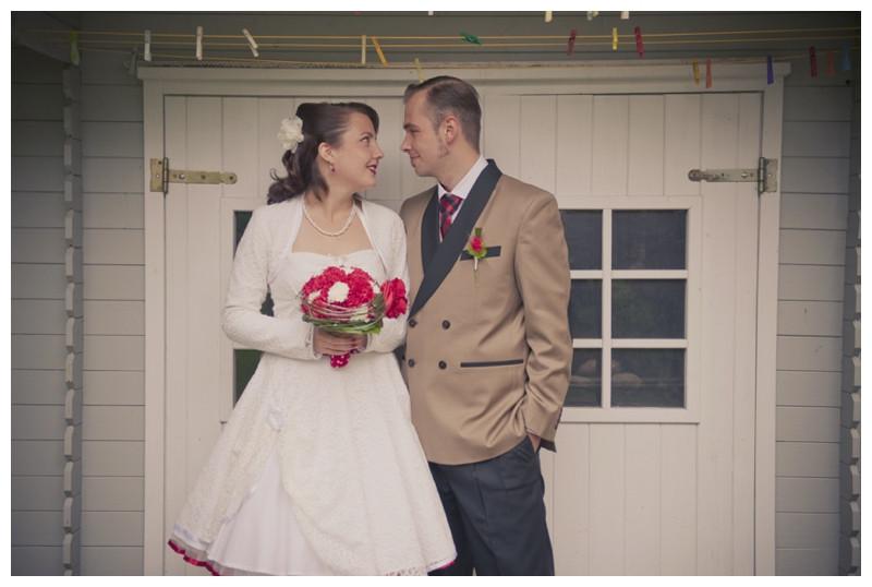 Rockabilly Männer Hochzeit  Hochzeit in Neuburg an der Kammel 50er Jahre Rock n