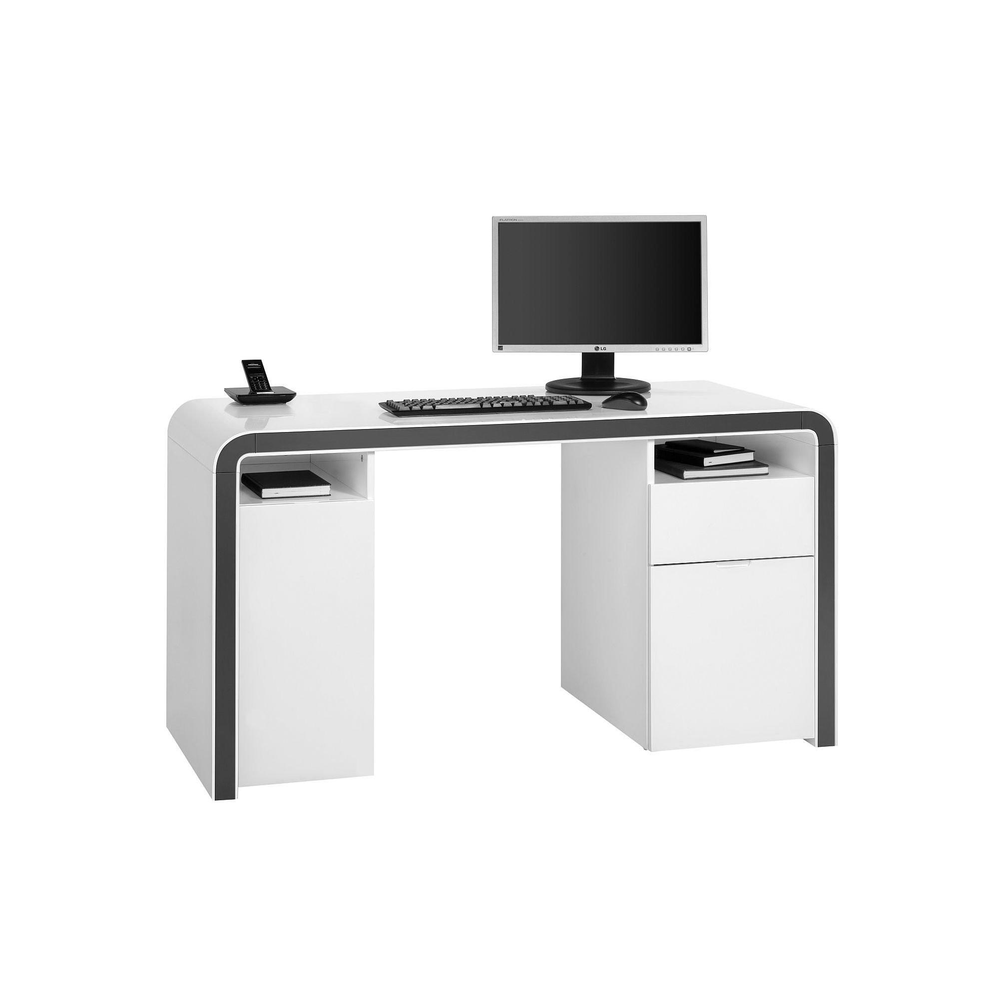 Schreibtisch Weiß Roller 2021