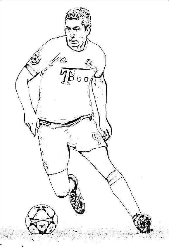 Ronaldo Ausmalbilder  Ausmalbilder Fußballspieler Messi Foto Ausmalbild