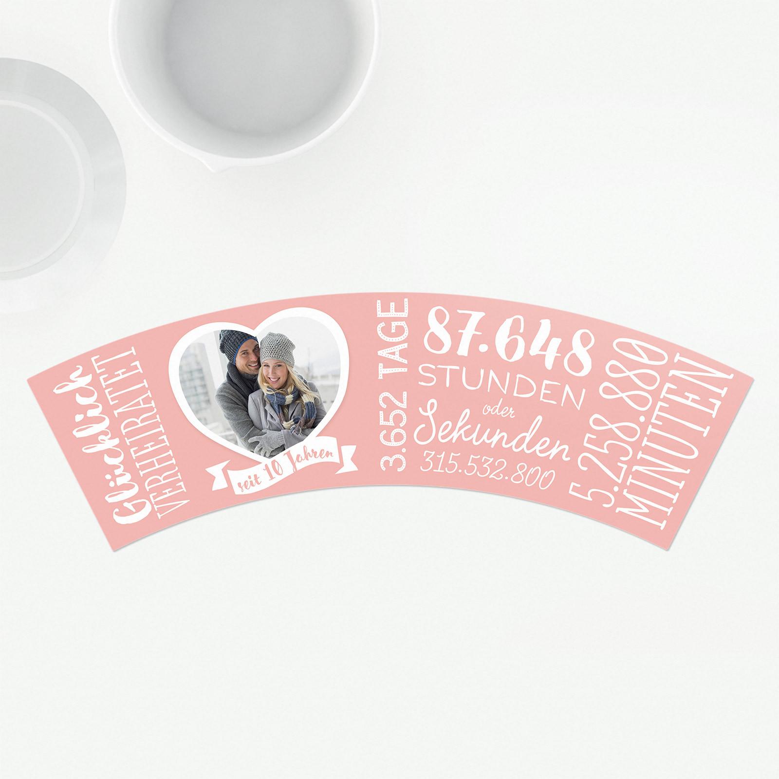 Rosenhochzeit Geschenke  10 Hochzeitstag Rosenhochzeit – Blumentopf von MyFacepot