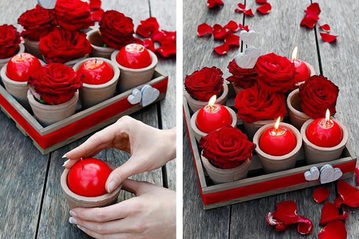 Rosenhochzeit Geschenke  Rosenhochzeit 10 Hochzeitstag