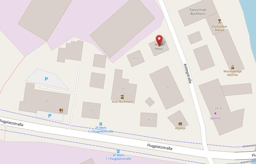 Rotes Haus Friedrichshafen  Kontakt Anfahrt Rotes Haus Friedrichshafen