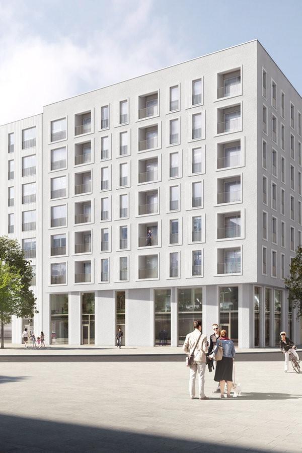 Saga Wohnungen Hamburg  Hafencity Spatenstich für SAGA Wohnungen