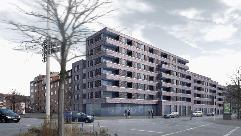 Saga Wohnungen Hamburg  SAGA baut Wohnungen an der Knoopstraße Hamburg Harburg