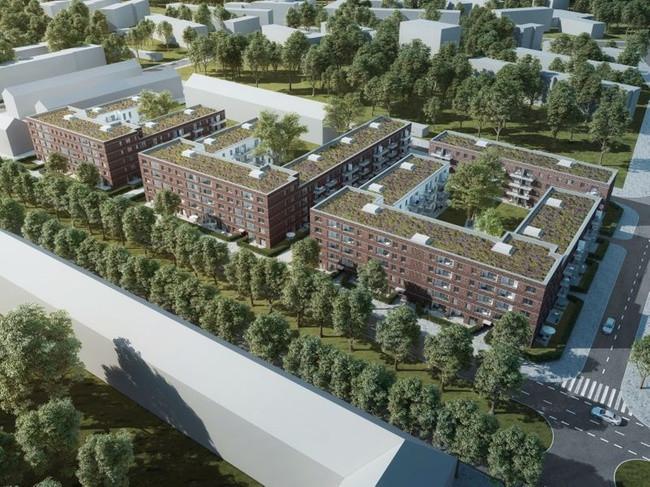 Saga Wohnungen Hamburg  Hamburg Saga realisiert 294 öffentlich geförderte