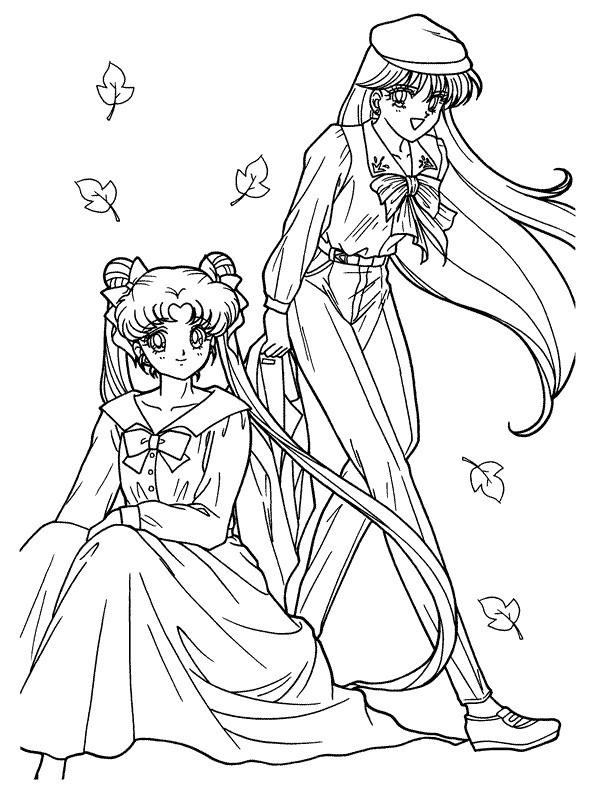 Sailor Moon Malvorlagen  Ausmalbilder zum Ausdrucken Ausmalbilder Sailor Moon zum