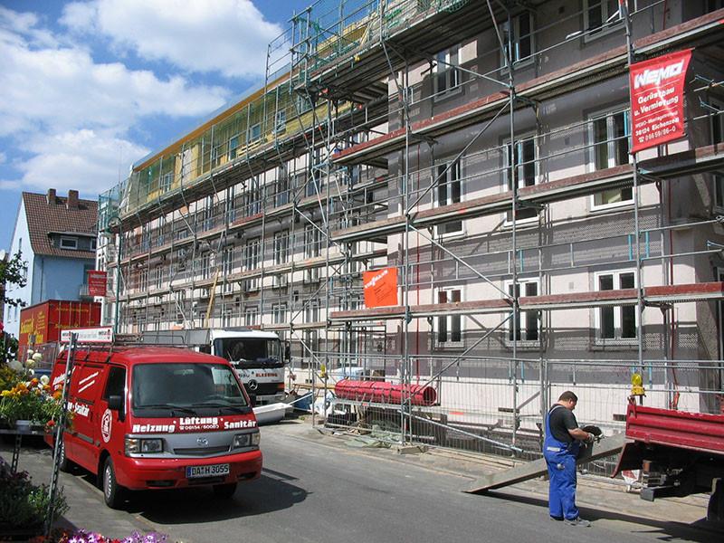 Sanitär Darmstadt  Referenzprojekte Haustechnik Rossdorf