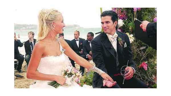 Sarah Connor Und Marc Terenzi Hochzeit  HOCHZEIT Sarah startet barfuß ins Eheglück