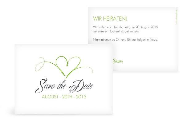 Save The Date Karten Hochzeit  Save the Date Karten zur Hochzeit – Versand in 1 2 Tagen