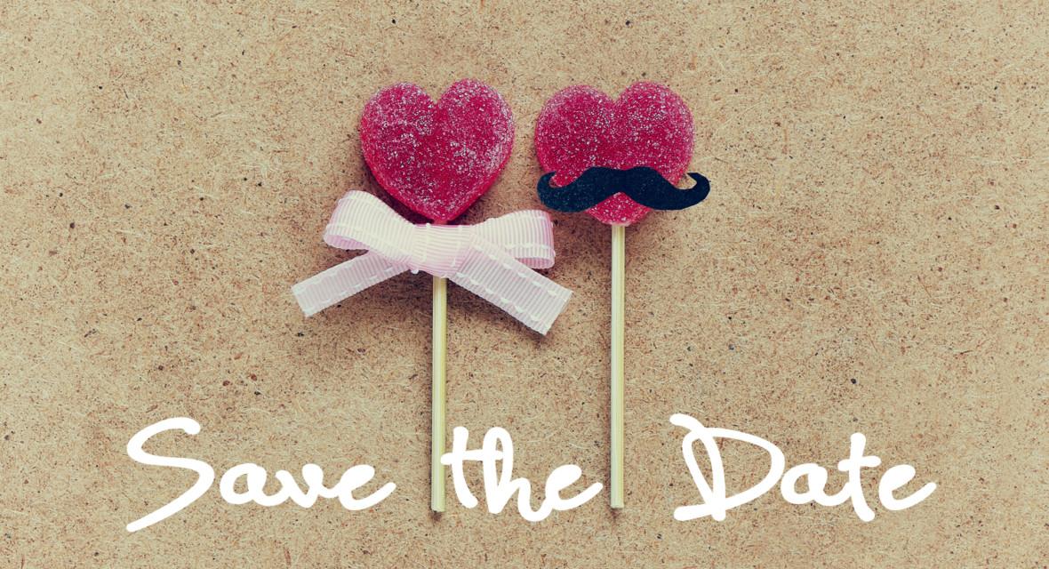 Save The Date Karten Hochzeit  Originelle Save the Date Karten basteln für deine Hochzeit