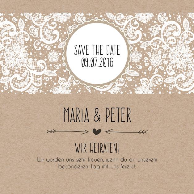 Save The Date Karten Hochzeit  Hochzeitsgästebuch Save the date Karten Vintage