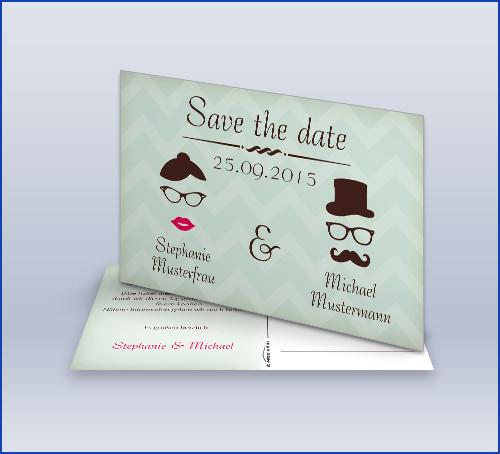 Save The Date Karten Hochzeit  daskartendruckhaus