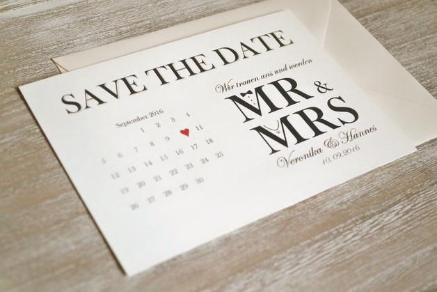 Save The Date Karten Hochzeit  Einladungskarten Save the Date Karten zur Hochzeit