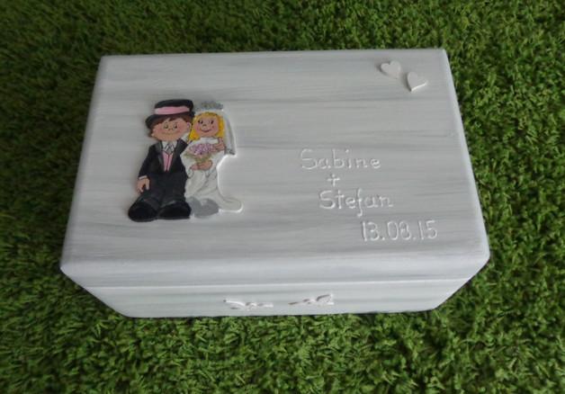 Schatzkiste Hochzeit  Kisten & Boxen Schatzkiste Erinnerungskiste Hochzeit