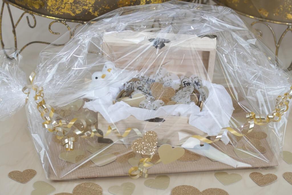 Schatzkiste Hochzeit  Schatzkiste zur Hochzeit