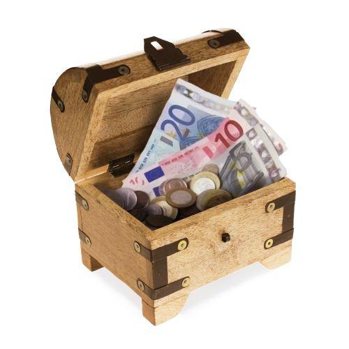 Schatzkiste Hochzeit  Geldgeschenke Schatzkiste Geld abenteuerlich verschenken