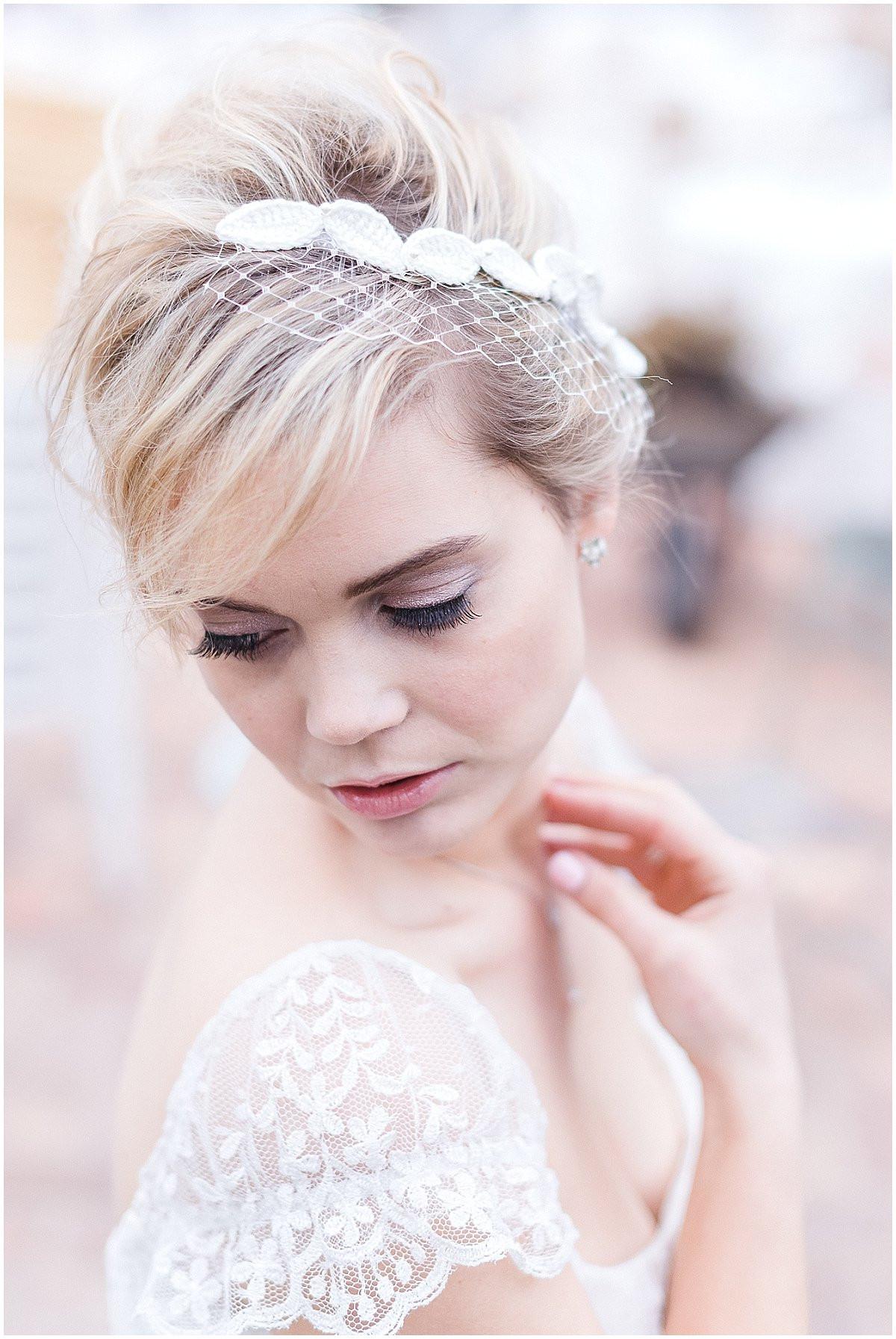 Schleier Hochzeit  Die große Frage Schleier oder kein Headpiece zur Hochzeit