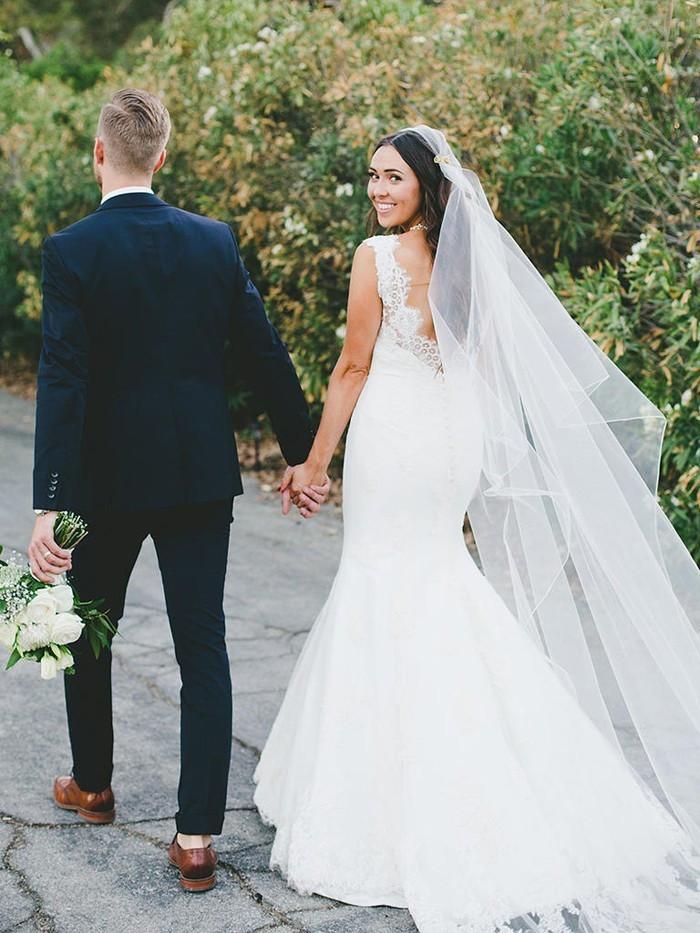 Schleier Hochzeit  101 Hochzeitsideen für Brautfrisuren mit Schleier weil