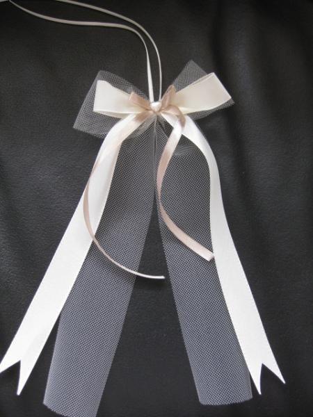 Schleifen Für Auto Hochzeit  Antennenschleifen für Gäste Auto