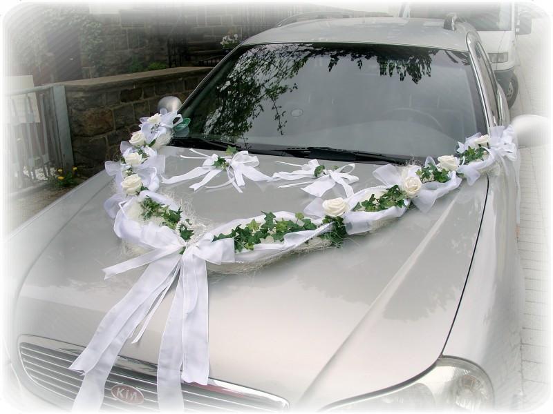 Schleifen Für Auto Hochzeit  Autoschmuck Autodeko Hochzeit Autoschleife Schleife